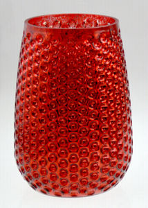 Red Pineapple Candle Holder for X′mas Day pictures & photos