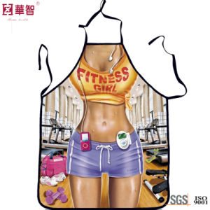 Digital Printed Fashion Sexy Apron pictures & photos