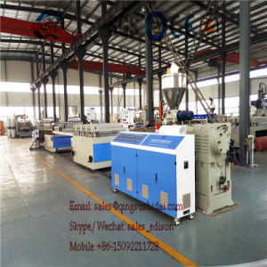PVC Foam Board Production Line PVC Foam Sheet Making Machine PVC Foam Board Extrusion Line Kitchen Cabinet Door Making Machines pictures & photos