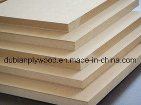 Plain MDF Melamine MDF with The Size (1220X2440mm) pictures & photos