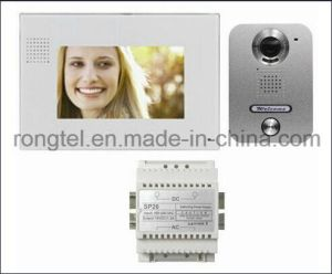 "7"" Inch Video Intercom Villa Kit, Open Two Door Locks pictures & photos"