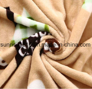 Super Soft Printed Flannel Blanket Sr-B170213-17 Printed Coral Fleece Blanket pictures & photos