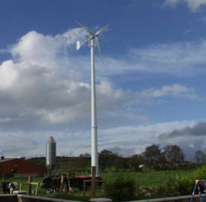 Small Wind Turbine Tower for Wind Generator pictures & photos
