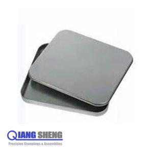 Custom Small Sheet Metal Stamping Metal Box for CD Case