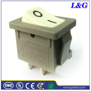 Power 16A Mini Rocker Switch Used in Electrical Appliances