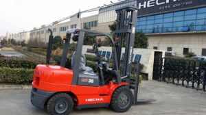 3.5 Ton Diesel Forklift Used pictures & photos