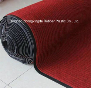 3G Ribbed PP PVC Cleaning Mat with PVC Backing pictures & photos