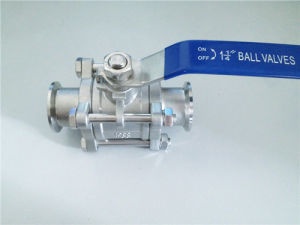 Sanitary Stainless Steel 3PC Ball Valve pictures & photos