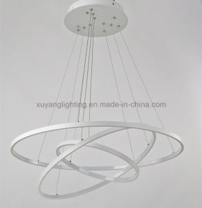 Modern Art Chandelier for Projects, Hot Sales LED Pendant Light for Residental pictures & photos