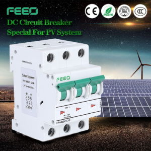 Special DIN Rail Solar Energy 125V 32A 3p MCB Circuit Breaker pictures & photos