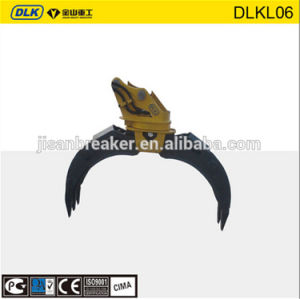 Dlkl06 Rotating Typ Log Grapple for Excavator pictures & photos