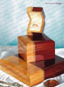 Wooden Jewelry Box (JW14)