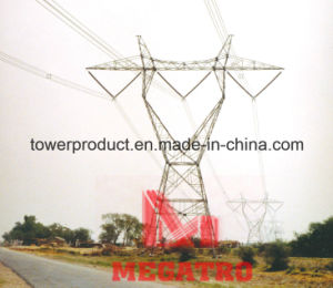 500kv Horizontal Type Single Circuit Overhead Transmission Line Tower pictures & photos