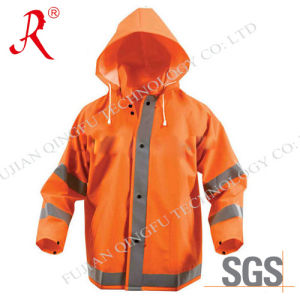 Waterproof and Breathable Rain Suit (QF-701) pictures & photos