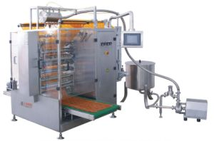 Liquid Four-Side Sealing & Multi-Line Packing Machine pictures & photos