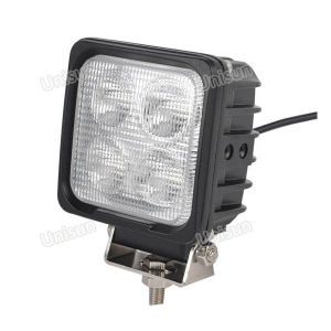 "12V 5"" Square 40W CREE LED Car 4X4 Work Light/Lamp pictures & photos"