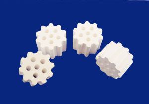 Manufacturer Three Holes Ceramic Ball as Perforated Catalyst Carrier pictures & photos
