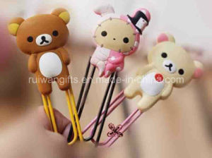 Popular Cartoon New Soft PVC Rubber Kids Bookmark pictures & photos