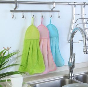 Embroidered Small Bathroom Hand Towels 100% Cotton Towel