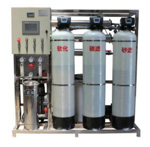 1000 L/Hr Pure Water Treatment Plants with Reverse Osmosis Membrane pictures & photos