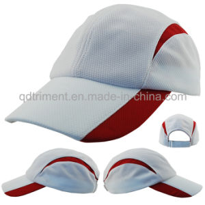 Reflective Stripe Microfiber Fabric Baseball Sport Cap (DOCR0126) pictures & photos
