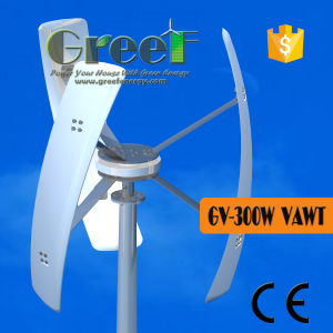 300W 500W Vertical Wind Energy System Home pictures & photos