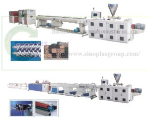 PVC Pipe Extruding pictures & photos