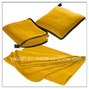 Fleece Blanket Fleece Housed Car Multipurpose Folding Pillow Blanket pictures & photos