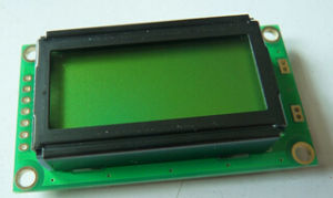 8X2 Character LCD Display Module (TC802C-01)