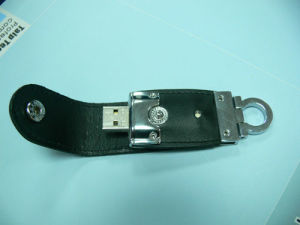 Generic Leather USB Flash Drive pictures & photos