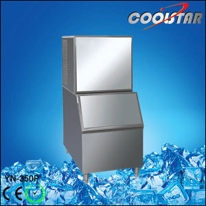 Commercial Water Flowing Mode Ice Machine Ice Cube Maker pictures & photos
