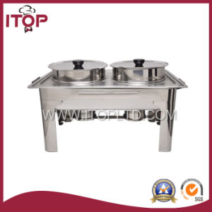 Simple Economical Soup Station Buffet Food Warmer pictures & photos