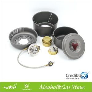 Gas Burner with an Extra Alcohol Burner pictures & photos