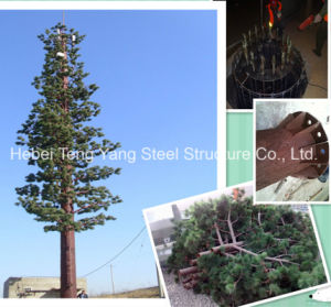 Bionic Tree Tower Steel Galvanized GSM Wireless Telecom Tower pictures & photos