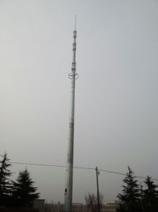 Polygonal Monopole Telecommunication Tower
