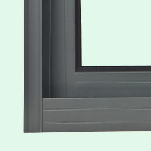 New Design Powder Coated Crescent Lock Aluminum Sliding Window K01026 pictures & photos
