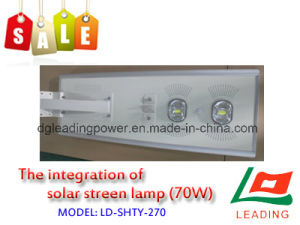 The Integration of Solar Street Lamp (70W)
