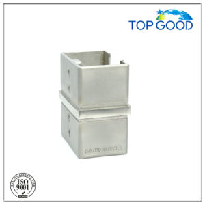 Stainless Steel Corner Horizontal Slot Tube Connector (53160) pictures & photos