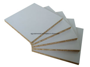 White Melamine Particle Board E1 Grade Particle Boar pictures & photos