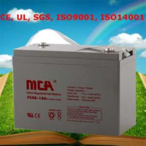 Storage Battery AGM Battery Gel Battery 6V180ah pictures & photos