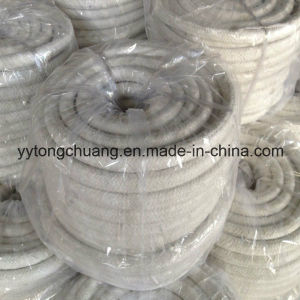 Ceramic Fiber Round Braided Sealing Rope with Glass Filament+S. S. Wire Reinforcement pictures & photos
