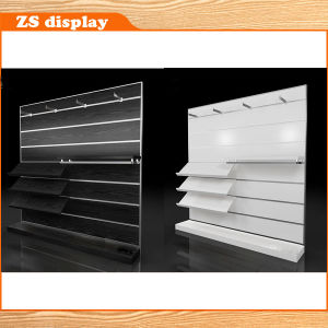 MDF Display Shelf with Stainless Steel Hanger (ZS-623)