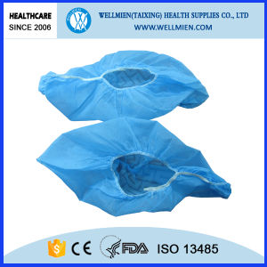 Disposable Anti Skid Non-Woven Shoe Cover for Hospital pictures & photos