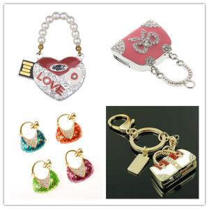 USB Flash Drive Wholesale Crystal Handbag Flash Card USB Pen Drive Memory Stick USB Flash Disk USB Flash Memory Pendrives USB Flash pictures & photos