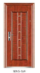 Steel Security Door (WX-S-164) pictures & photos
