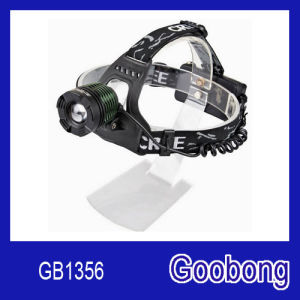 High Power Super Bright CREE T6 LED Rechargeable Zoom Headlamp pictures & photos