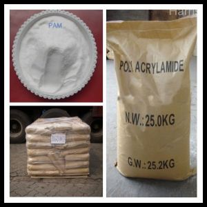 High Purity Polyacrylamide (Polyelectrolyte) Water Treatment pictures & photos