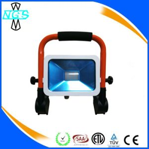 12V 10W 20W 30W Rechargeable Foldable LED Flood Light pictures & photos