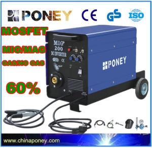 DC Inverter Mosfet MIG/Mag Gas/No Gas Welding Machine (MIG-200B) pictures & photos