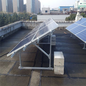 China Solar Panel Mounting System Solar Panel Bracket Flat